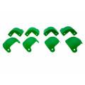 Kit Cantoneira para Amplificador Angular Verde 8 Peças