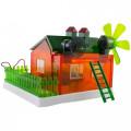 Kit Educacional Casa Solar -  ( Concept House ) - Facíl de Montar - WP116241
