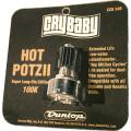 Potenciômetro Hot Potz II Dunlop Cry Baby para pedal de Wah-Wah de 100KΩ - ECB24B