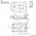 Caixa Plástica  CP-010/1P  - Patola