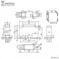 Caixa Plástica   MC-002  - Patola