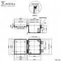 Caixa Plástica   PBO-403  - Patola