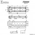 Caixa Plástica  PB-056/5 - Patola