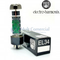 Quarteto Casado da Válvula EL34EH 6CA7 Pentodo de Potência Electro-Harmonix