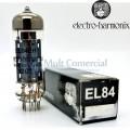 Par Casado da Válvula EL84EH 6BQ5 Pentodo de Potência Electro-Harmonix