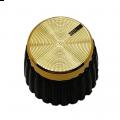 Knob para Eixo estriado padrão Marshall - Dourado - KN-21